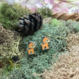 Tiny Bambi earrings